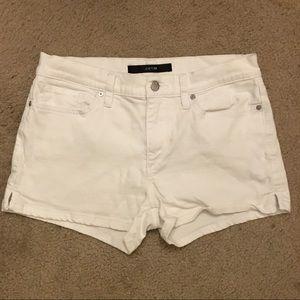 "Joe's Jeans White Jean Shorts Fit 3"" Short Size 28"